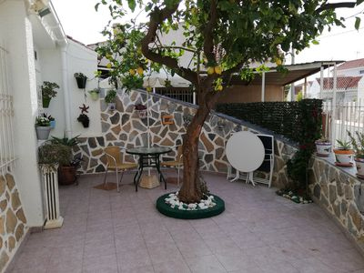 Photo for Traditional Spanish 3 Bedroom Holiday Cottage. Near beach, shops and restaurants