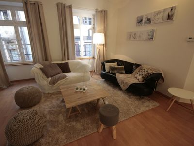 Photo for 3 bedroom apartment for 6 pers. in the center of Colmar - Street pedestrian.