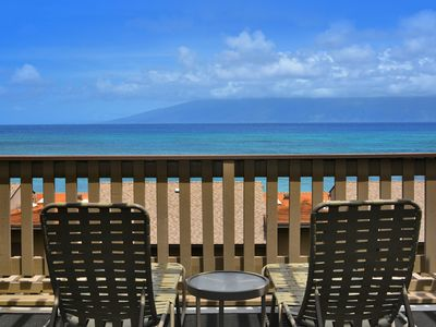 Photo for Sweeping Ocean & Outer Island Views With Secluded Beach at Kahana Sunset E4