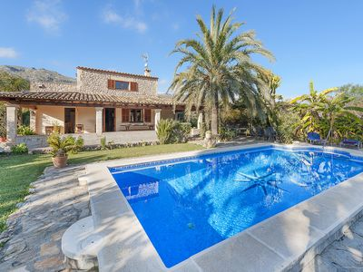 Photo for Last minute deals -Villa Ca Nostra - charming hideaway in La Font near Pollensa