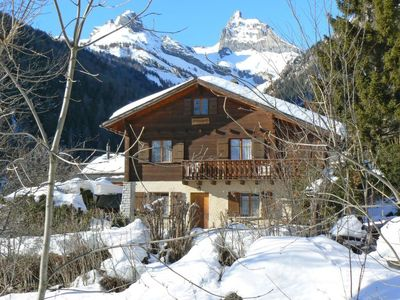 Photo for Apartment Le Vieux Bisse  in Ovronnaz, Valais - 4 persons, 2 bedrooms