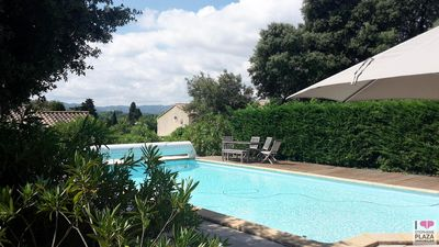 Photo for Villa with sublime view of the Alpilles