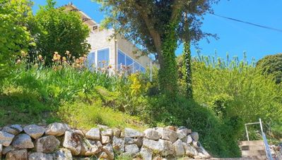 Photo for Ground floor of Villa in the center of Sartene with terrace and garden