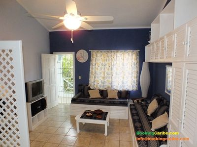 Photo for BAYAHIBE FAMILY APT, TERRACE with BBQ