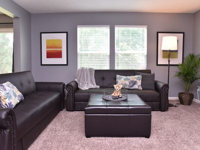 Photo for Sensational Updated 4BR 2.5BA Indianapolis. 12 guests