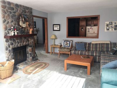 Photo for Sunny, Roomy, Timber Creek Townhouse; Free Shuttle to Mount Snow