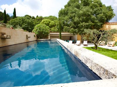 Photo for Petite Paradis Provençale, Private Domain, surrounded by an olive grove