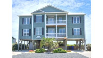 Photo for Oceanfront 8 BR/6 BA-Sleeps 20-Great Home w/POOL-Perfect for Family Gatherings