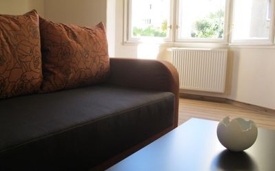 Photo for A flat to fall in love with, quiet villa, exciting setup, all-new, wi-fi, garage