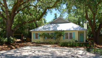 Photo for Great Location!  Charming Beach Cottage. 1 block to Beach