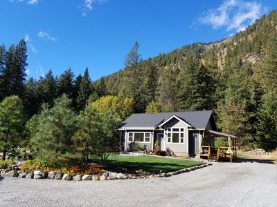 Photo for **NEW CABIN CLOSE TO EVERYTHING LEAVENWORTH~ ON ICICLE ROAD NEAR SLEEPING LADY**