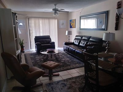 Photo for Jupiter Garden Condo / In town and 2 miles to the Ocean
