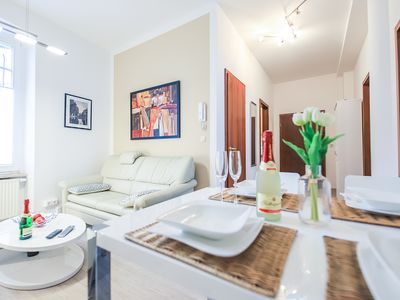 Photo for Bright and modern apartment at the Erfurt Cathedral