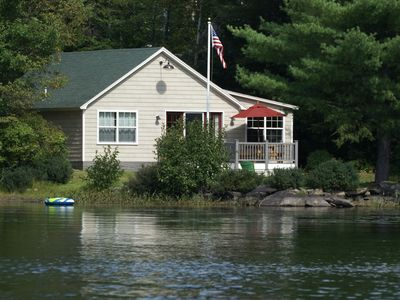 Photo for Recently Renovated Year-Round Waterfront Cottage on Otter Pond