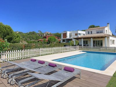 Photo for VILLA QUERMANY, TAMARIU - 4 Bedrooms, Private Pool, WiFi, Table Tennis, BBQ