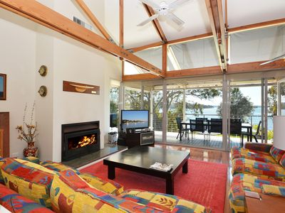 Photo for Morisset Bay Waterfront Views  - Stunning position on the Lake - Sunsets Galore