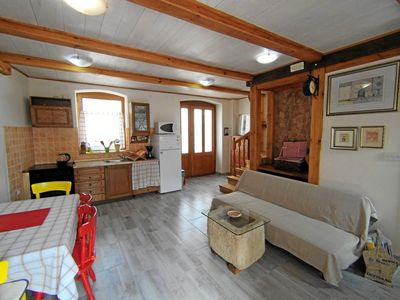 Photo for Stylishly renovated Istrian stone house close to the old town of Bale