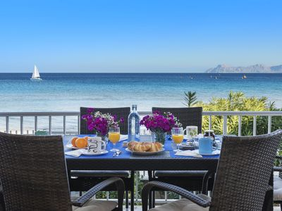Photo for FRONTLINE AP. L´AUBA BREATHTAKING VIEWS OF THE BEACH PERFECT FOR FAMILIES