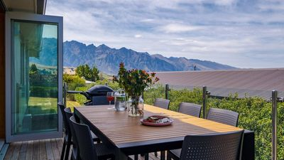 Photo for Central Wakatipu Haven | Hot Tub | BBQ | Outdoor Living