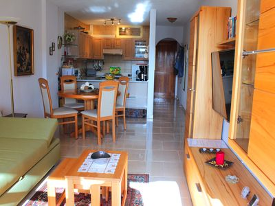 Photo for Amazing apartment in Los Cristianos Edén: 2 rooms, WiFi, swimming-pool, views...