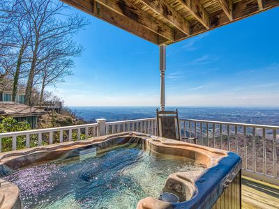 Photo for 1 Bedroom on Beautiful Bluff Mountain with Awesome Views!