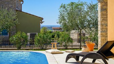 Photo for Charming villa with private pool near Umag