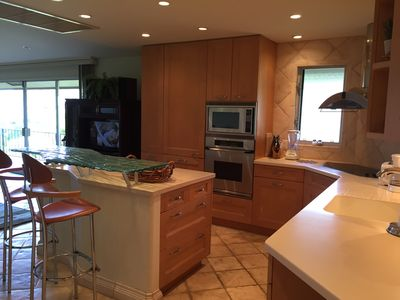 Gourmet kitchen with all appliances