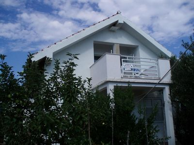 Photo for Two bedroom apartment with balcony and sea view Vinišće (Trogir) (A-17210-a)