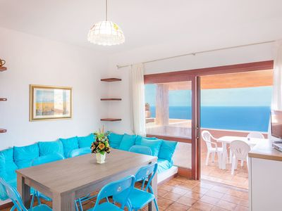 Photo for Directly on the Costa Paradiso - Apartment Le Pleiadi
