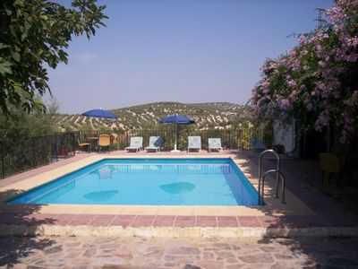 Photo for Villa 16/20 Pers. air cond. and private pool protected by barrier