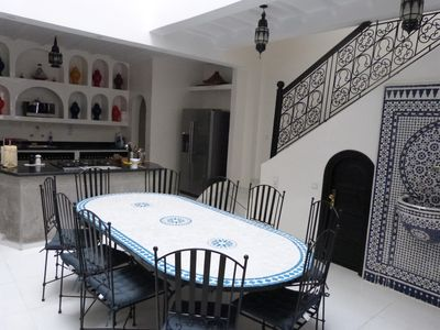 Photo for MAGNIFICENT RIAD 8 PEOPLE - TERRACE - CITY CENTER AGADIR