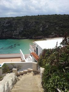Photo for House cliff with terrace in Menorca