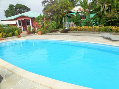 Photo for Homerez last minute deal - Amazing bungalow with shared pool