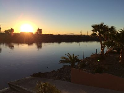 Photo for Colorado River Getaway  W / Private  Launch Ramp , Boat dock & Beach