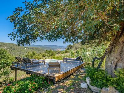 Photo for Secluded Holiday Home with View over Ibiza and the Sea, Jacuzzi & Wi-Fi