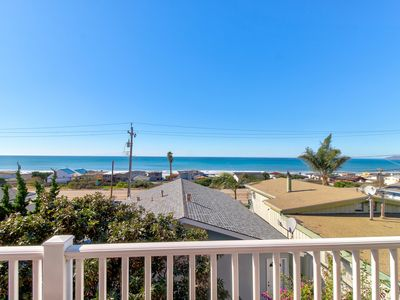 Photo for Charming, two-story home with deck, barbecue, and ocean views!