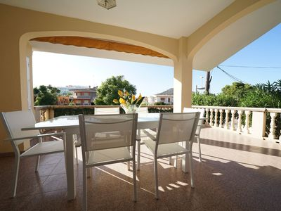 Photo for Charming Holiday Apartment Roselles Close to the Beach with Wi-Fi, Balcony & Terrace