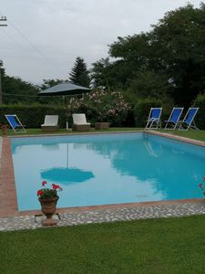 Photo for Villa XVI sec With salt water pool  Wifi A/C in a fenced area