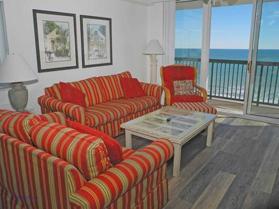 Photo for Ashworth Unit 1009! Stunning Ocean Front Condo! Book your get away today!