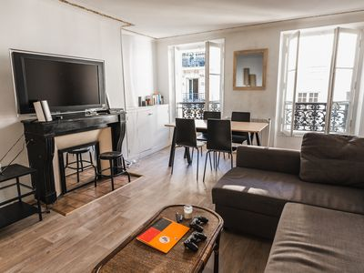 Photo for HostnFly apartments - Beautiful stylish apt in the heart of the Marais