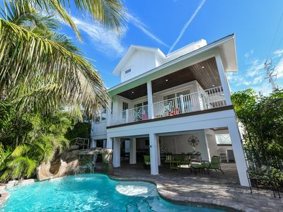 Photo for Beautiful 8 bedroom Luxury Home with private Pool and Spa! Just off the beach!