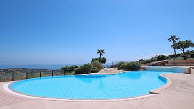 Photo for House 4 people - Sea view - Swimming pool - WiFi - Air conditioning - Les Issambres