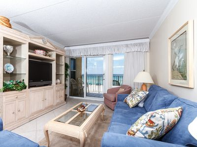 Photo for Island Echos 3L: Time to get your beach on! Adorable KEYLESS gulf front Condo