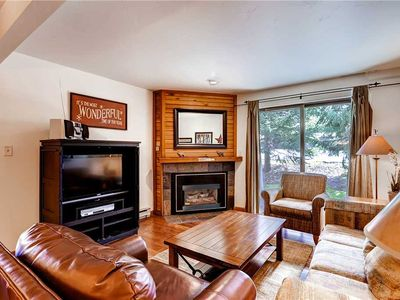 Photo for Beautiful Condo w/Cozy Fireplace and Private Patio!
