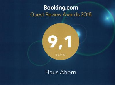 Rating of our guests in 2018