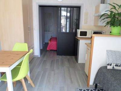 Photo for Holiday apartment 2 pers beach lock at 5 minutes walk-WIFI