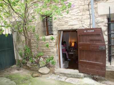 Photo for Le Point - Charming Village House In Beautiful Provence Village