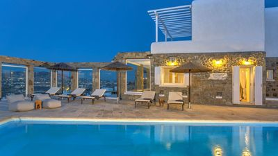 Photo for 6-Bedroom Villa with Private Pool + Sea View