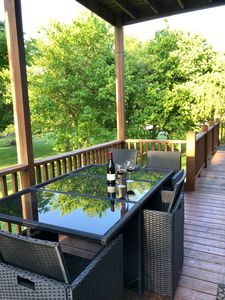 SECOND LEVEL DECK, HAPPY HOUR IS HERE!