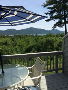 Gorgeous views from the upper deck to enjoy while grilling or chilling!